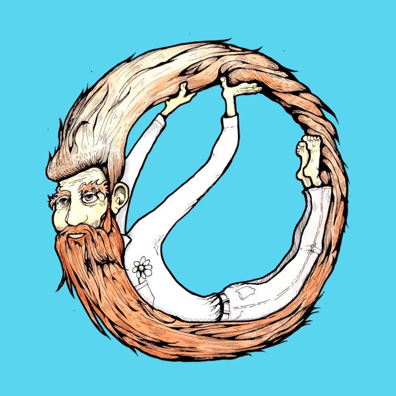 Beardo Men's T-Shirt by Taj Mihelich