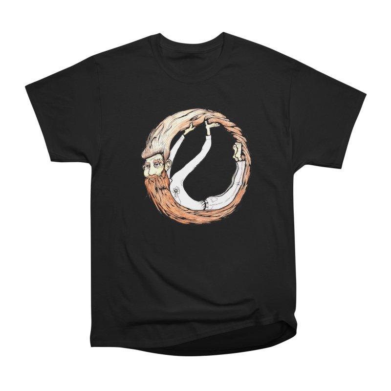 Beardo Women's Heavyweight Unisex T-Shirt by Taj Mihelich