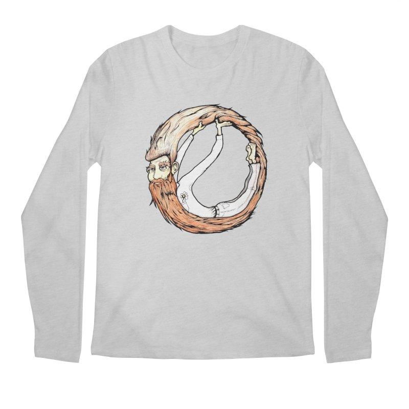 Beardo Men's Regular Longsleeve T-Shirt by Taj Mihelich