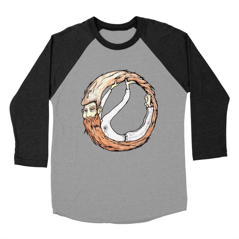 Beardo Men's Baseball Triblend Longsleeve T-Shirt by Taj Mihelich