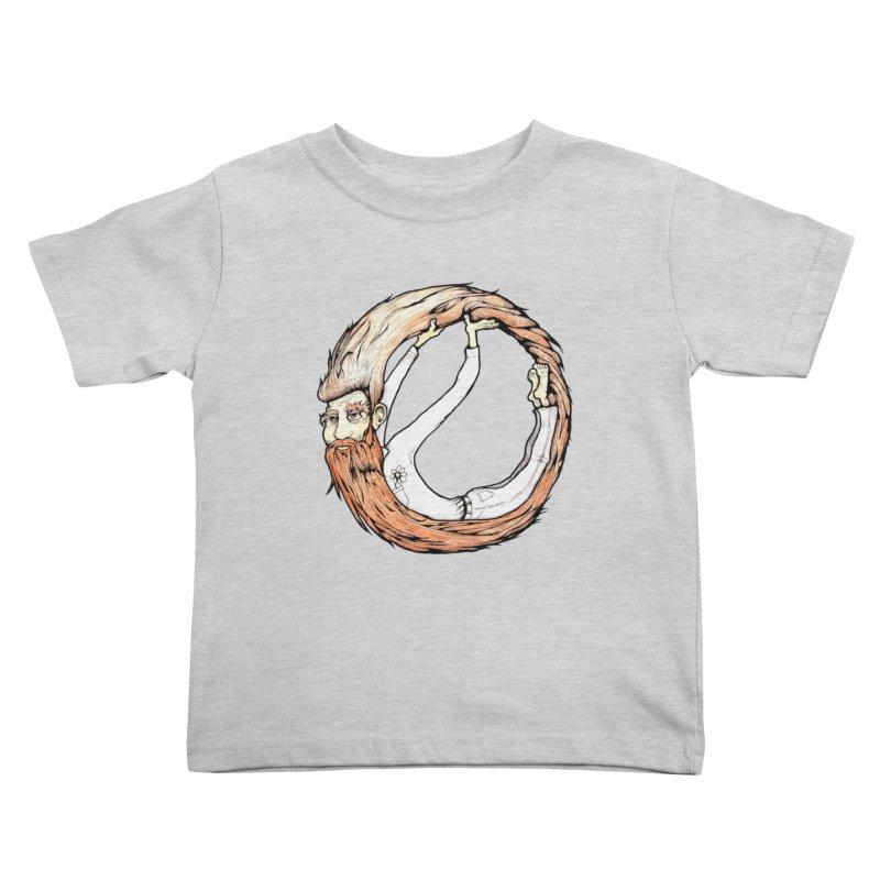 Beardo Kids Toddler T-Shirt by Taj Mihelich