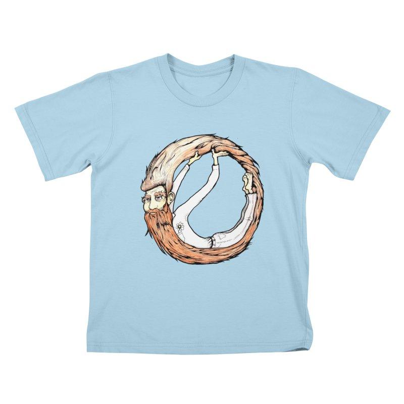 Beardo Kids T-Shirt by Taj Mihelich
