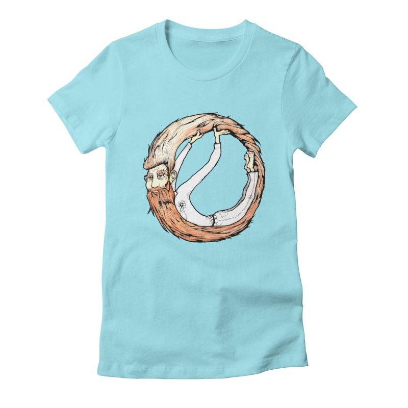 Beardo Women's Fitted T-Shirt by Taj Mihelich