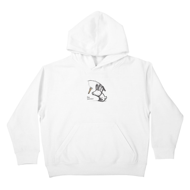 Stay Motivated Kids Pullover Hoody by Taj Mihelich