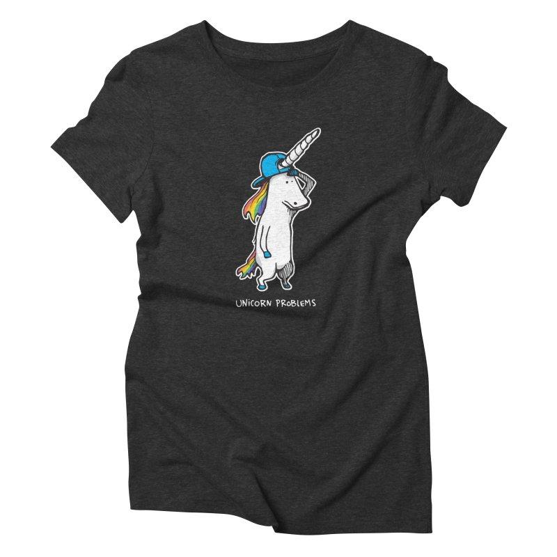 Unicorn Problems Women's T-Shirt by Taj Mihelich