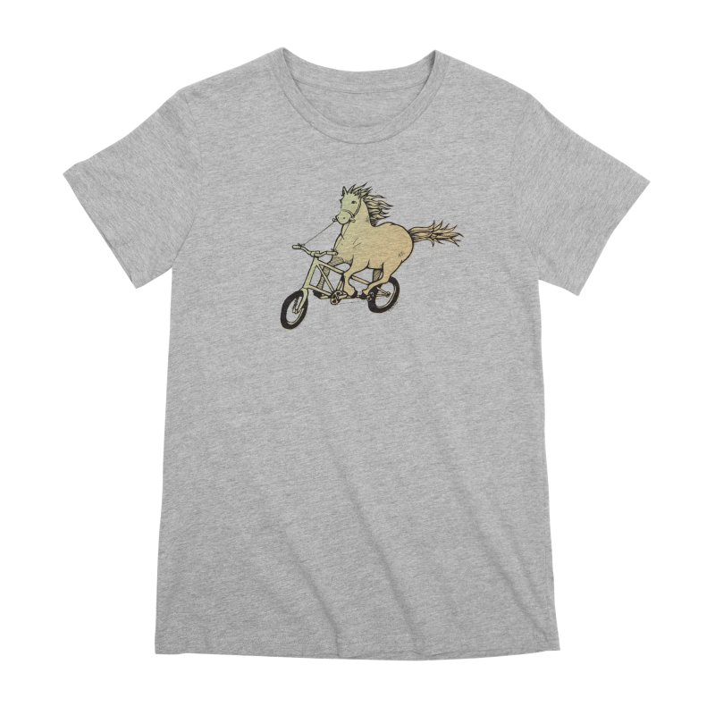 Clopless Pedals Women's T-Shirt by Taj Mihelich