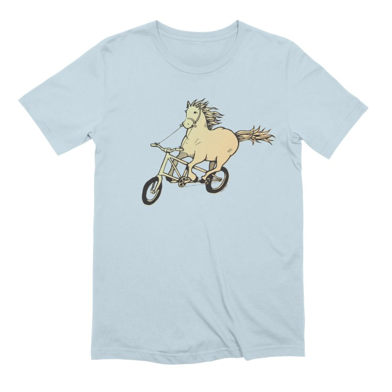 Clopless Pedals Men's Extra Soft T-Shirt by Taj Mihelich