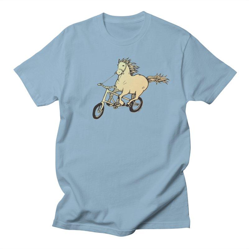 Clopless Pedals Men's Regular T-Shirt by Taj Mihelich