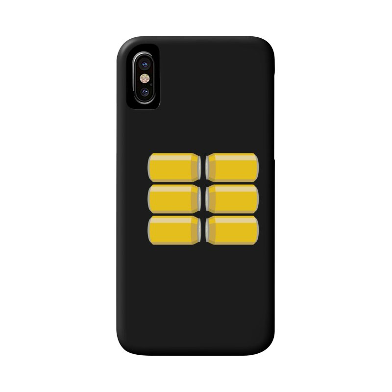 6-PACK ABS Accessories Phone Case by Sidewise Clothing & Design