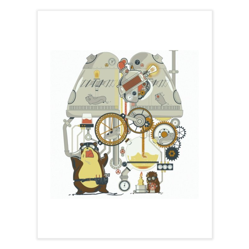 We Need More Power! Home Fine Art Print by The Takoyaki Project