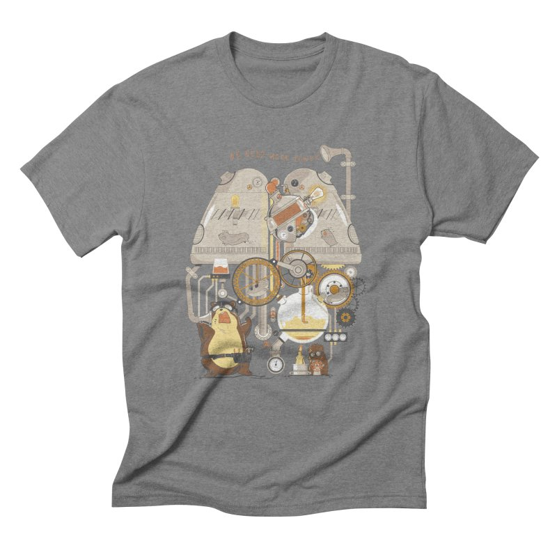We Need More Power! Men's Triblend T-Shirt by The Takoyaki Project