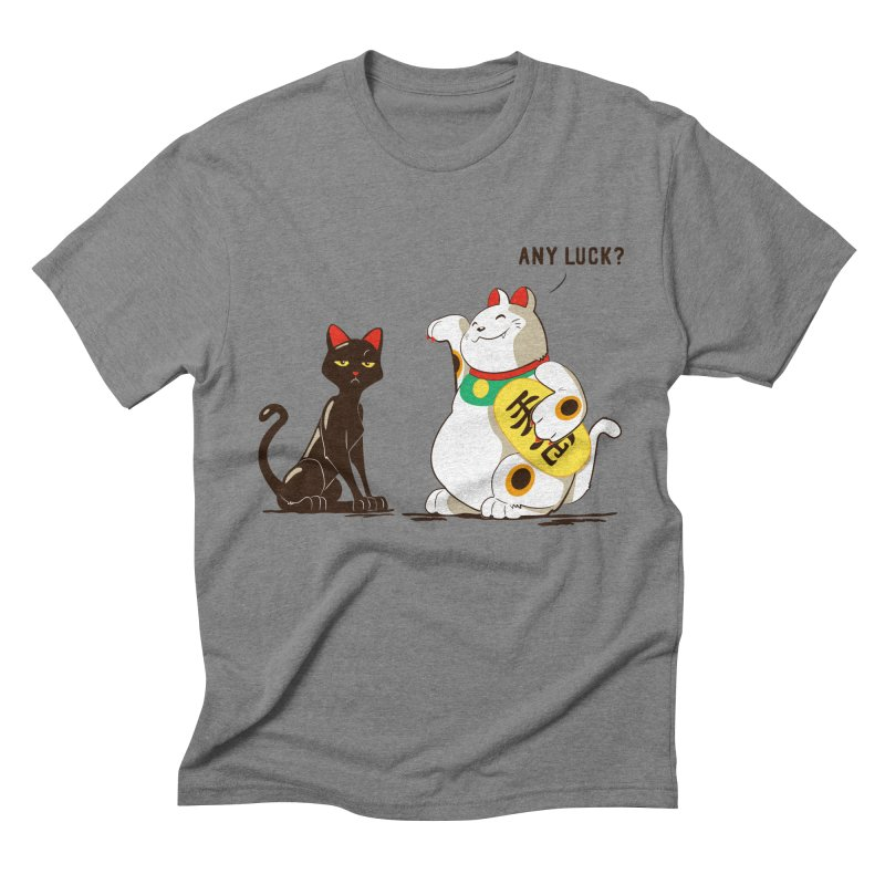 Luck Cats Men's Triblend T-shirt by The Takoyaki Project