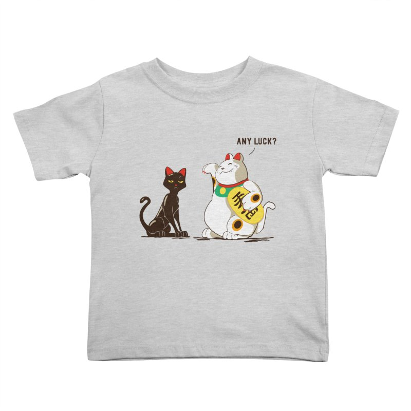 Luck Cats Kids Toddler T-Shirt by The Takoyaki Project