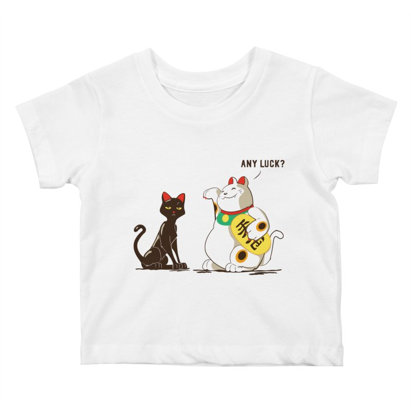 Luck Cats Kids Baby T-Shirt by The Takoyaki Project
