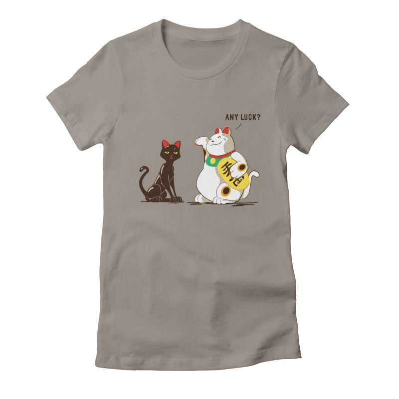 Luck Cats Women's Fitted T-Shirt by The Takoyaki Project