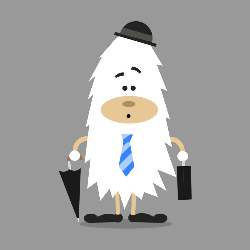 Office Yeti by Threadless Tshirts Cartoons