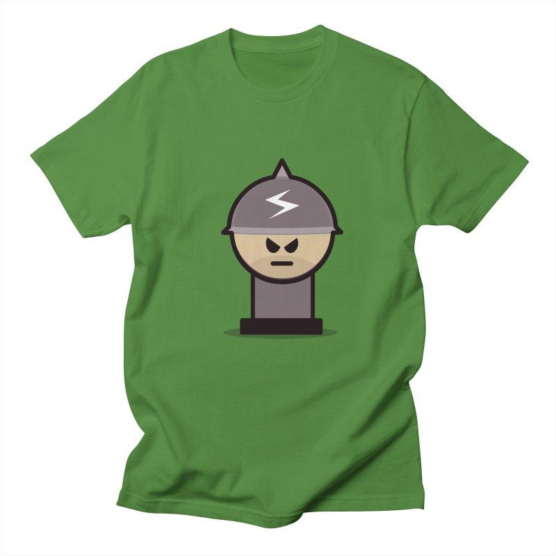 Grumpy Soldier   by Threadless Tshirts Cartoons