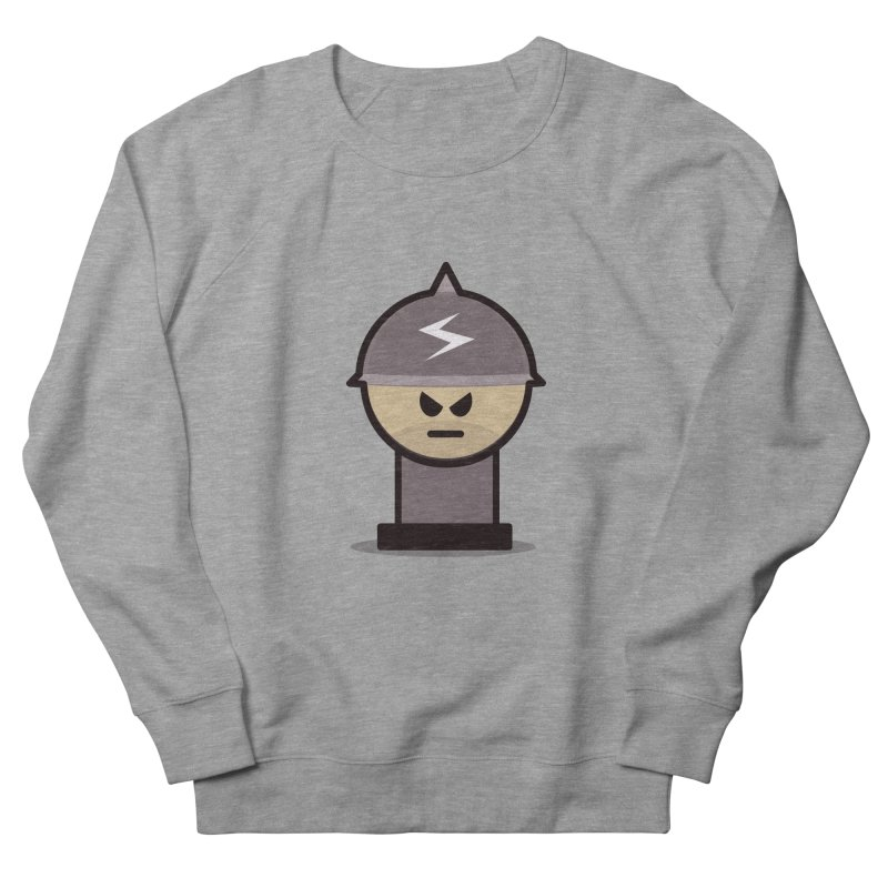 Grumpy Soldier Men's Sweatshirt by Threadless Tshirts Cartoons