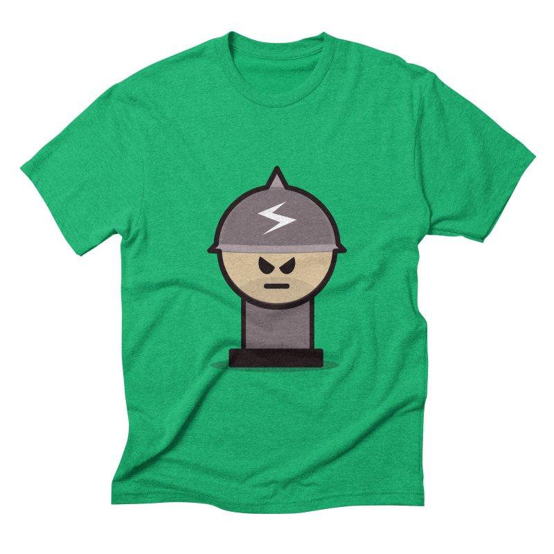 Grumpy Soldier Men's Triblend T-shirt by Threadless Tshirts Cartoons