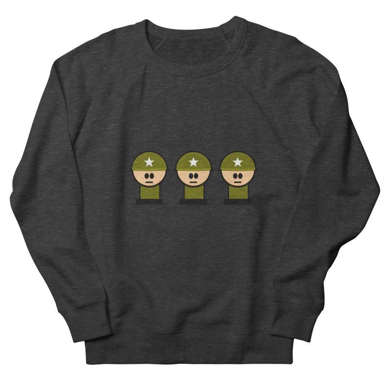 Three Little Soldiers Men's Sweatshirt by Threadless Tshirts Cartoons