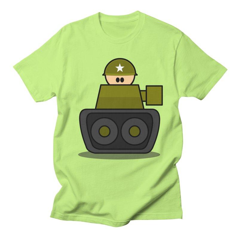 Little Soldier Tank Men's T-shirt by Threadless Tshirts Cartoons