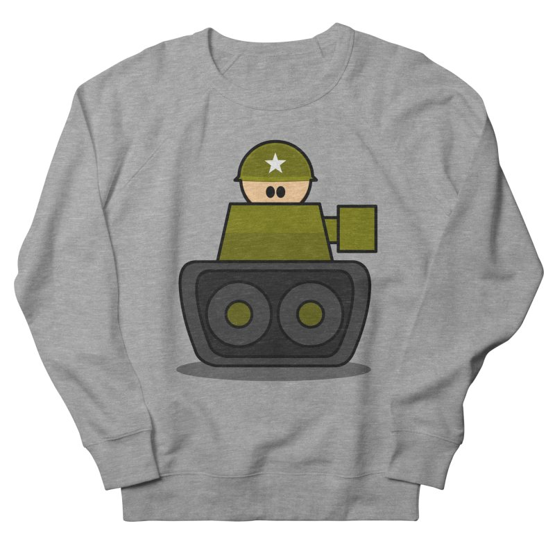 Little Soldier Tank Men's Sweatshirt by Threadless Tshirts Cartoons