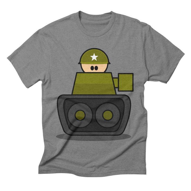 Little Soldier Tank Men's Triblend T-shirt by Threadless Tshirts Cartoons