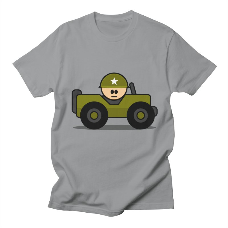 Little Soldier Jeep Men's T-Shirt by Threadless Tshirts Cartoons