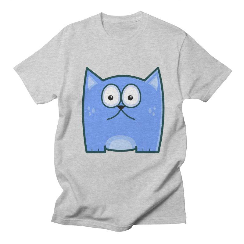 Single Cat Men's T-Shirt by Threadless Tshirts Cartoons