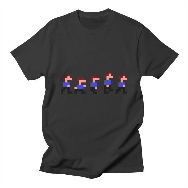 Retro Game Walk Men's T-Shirt by Threadless Tshirts Cartoons