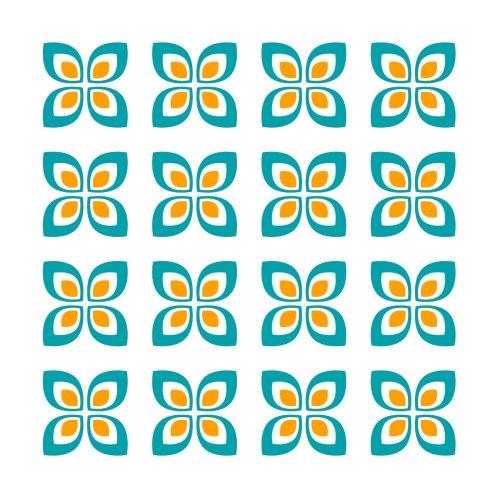 Design for Retro Flower Seamless Pattern
