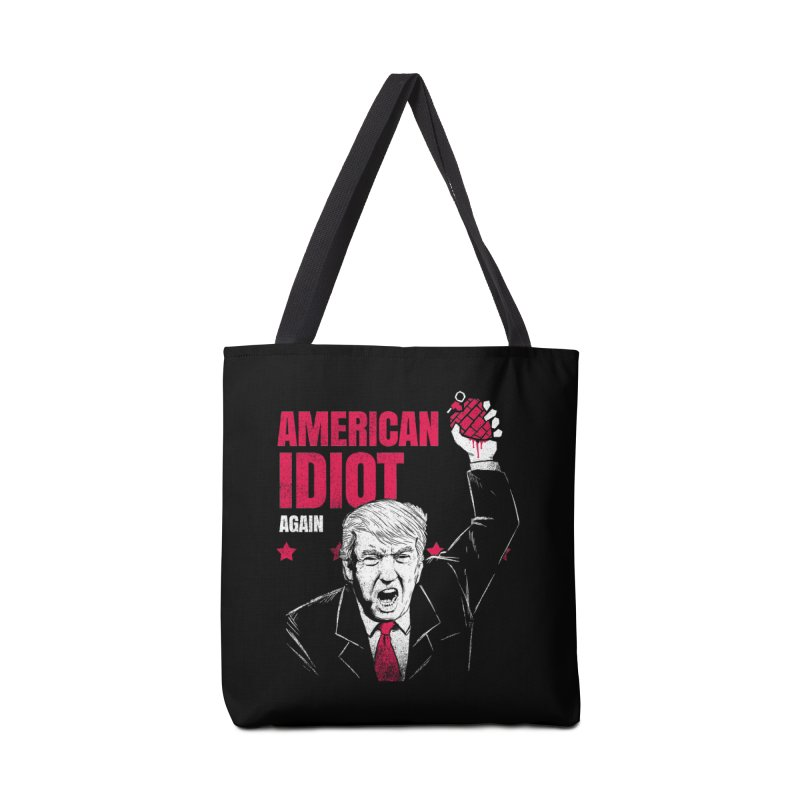 AMERICAN IDIOT Again Accessories Bag by tales83's Artist Shop