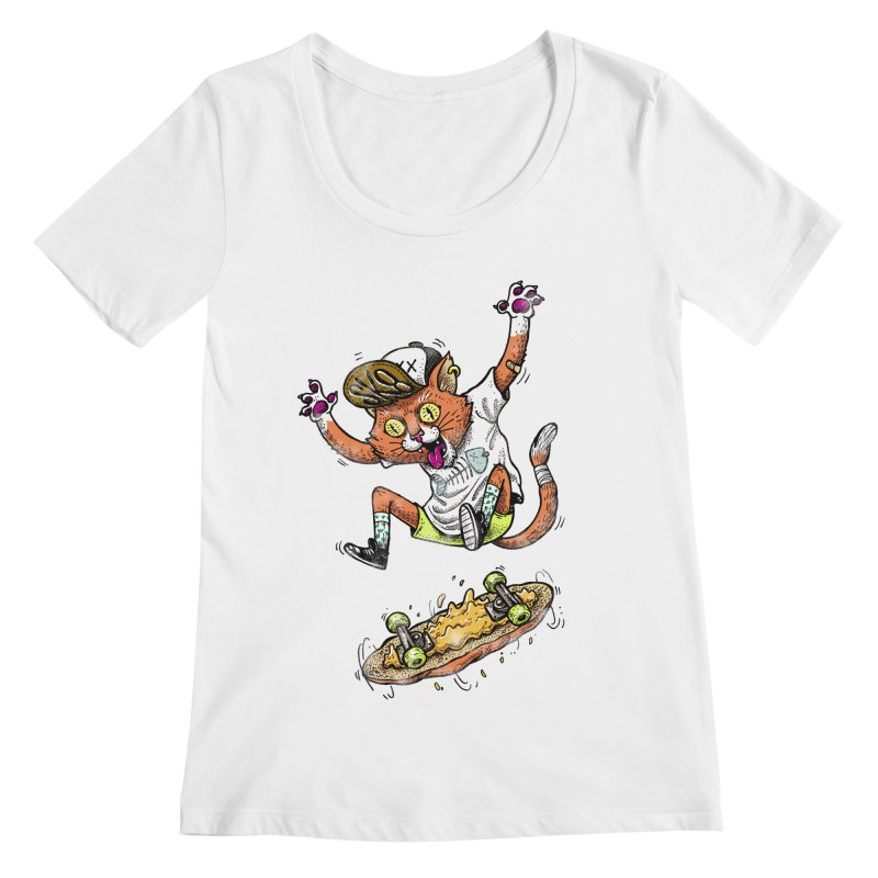 Perfect Skater Women's Scoopneck by tales83's Artist Shop