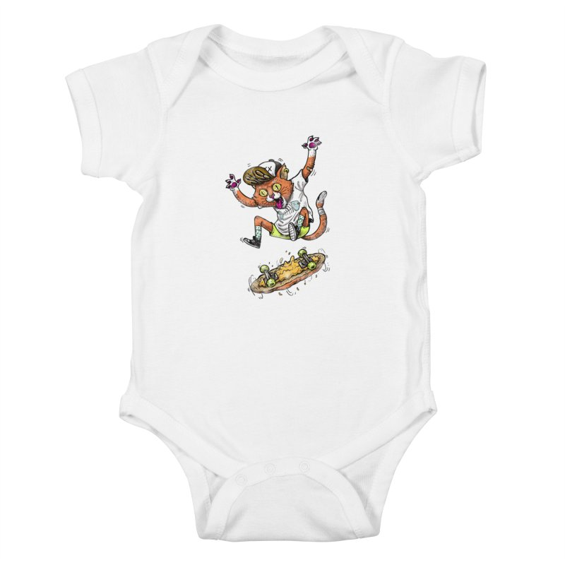 Perfect Skater Kids Baby Bodysuit by tales83's Artist Shop