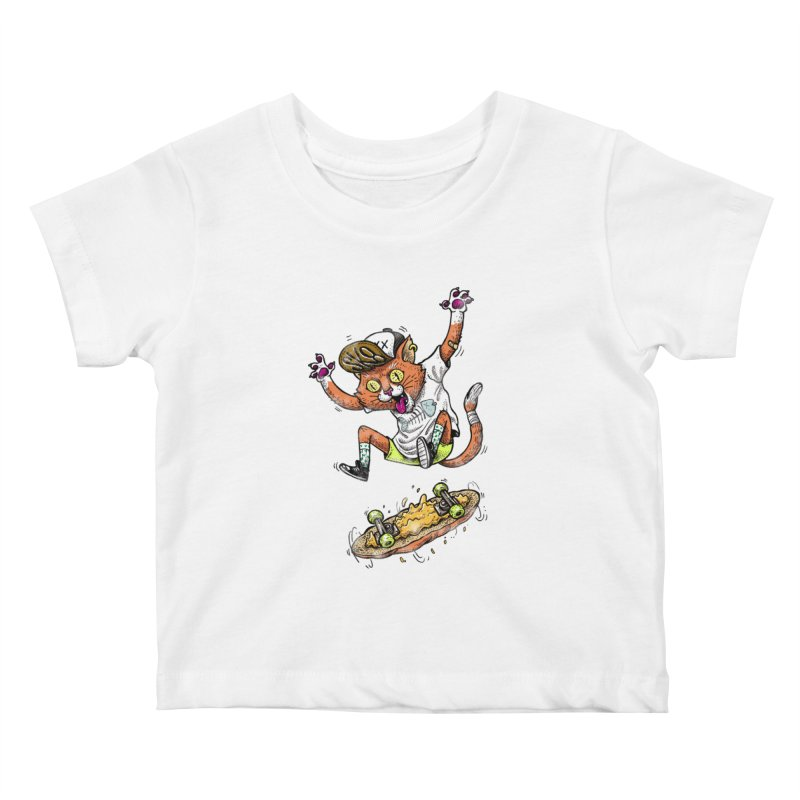 Perfect Skater Kids Baby T-Shirt by tales83's Artist Shop