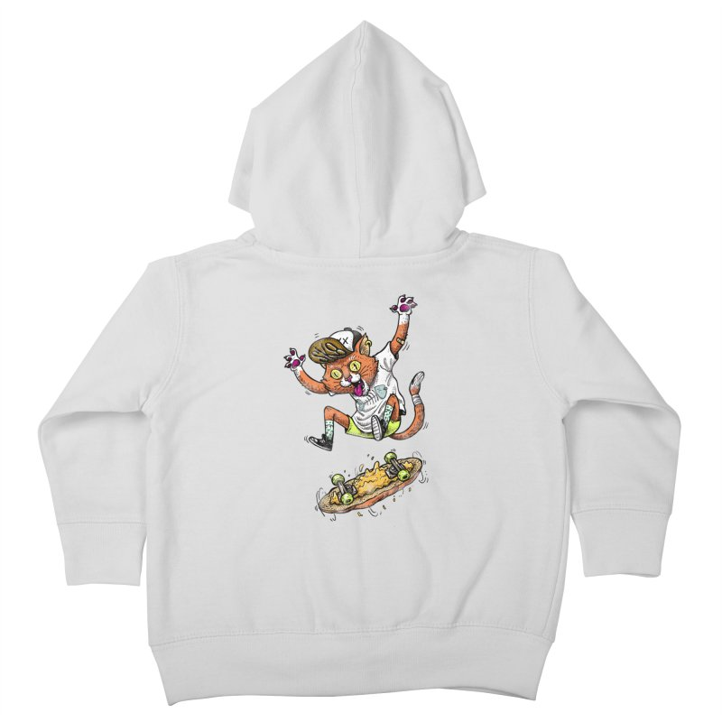 Perfect Skater Kids Toddler Zip-Up Hoody by tales83's Artist Shop