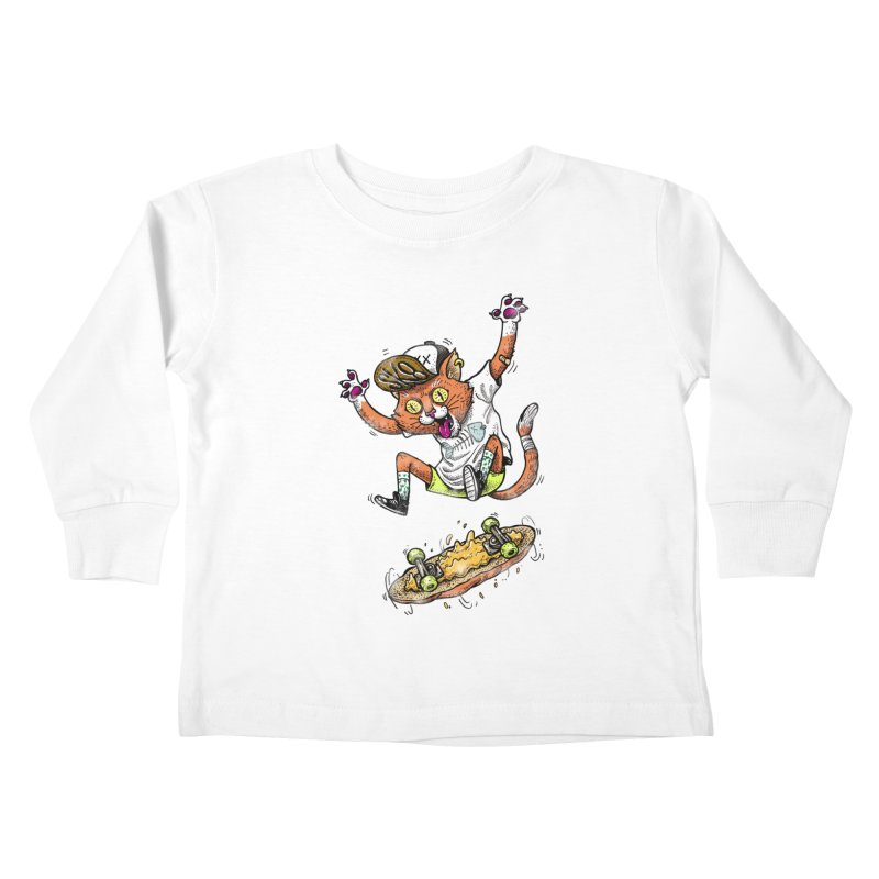 Perfect Skater Kids Toddler Longsleeve T-Shirt by tales83's Artist Shop