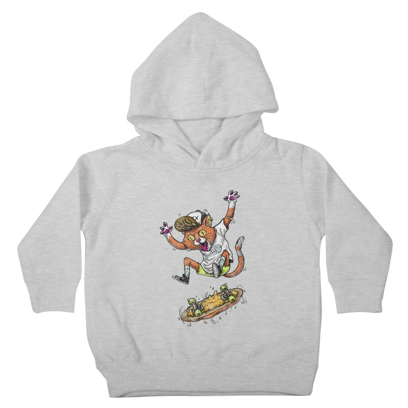Perfect Skater Kids Toddler Pullover Hoody by tales83's Artist Shop