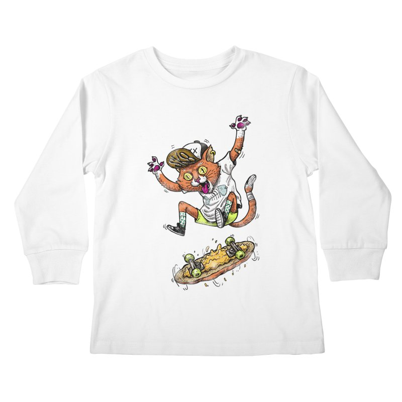 Perfect Skater Kids Longsleeve T-Shirt by tales83's Artist Shop
