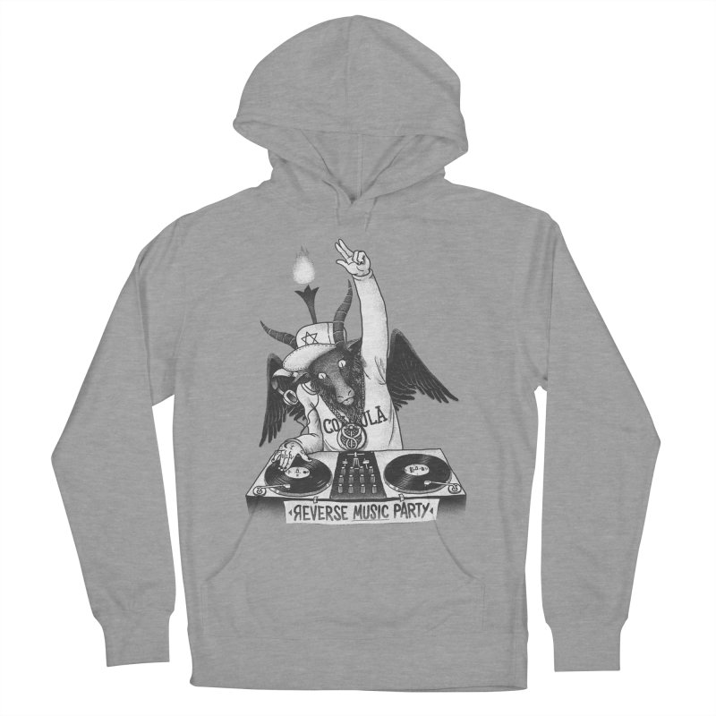 Reverse Music Party Women's Pullover Hoody by tales83's Artist Shop