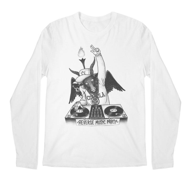 Reverse Music Party Men's Longsleeve T-Shirt by tales83's Artist Shop