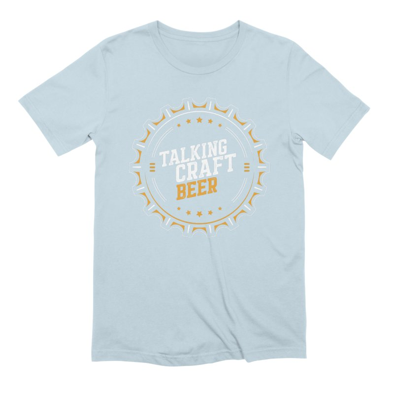 Talking Craft Beer (transparent) Men's Extra Soft T-Shirt by Talking Craft Beer Shop