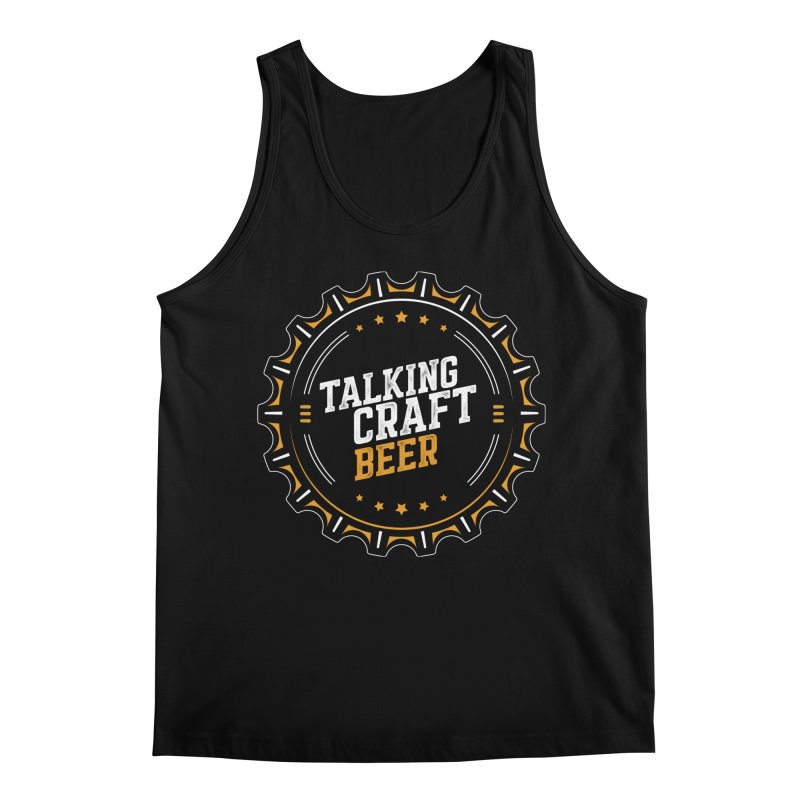 Talking Craft Beer (transparent) Men's Regular Tank by Talking Craft Beer Shop