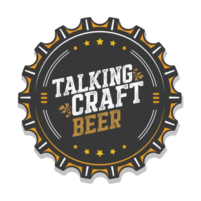Talking Craft Beer Logo Men's Zip-Up Hoody by Talking Craft Beer Shop