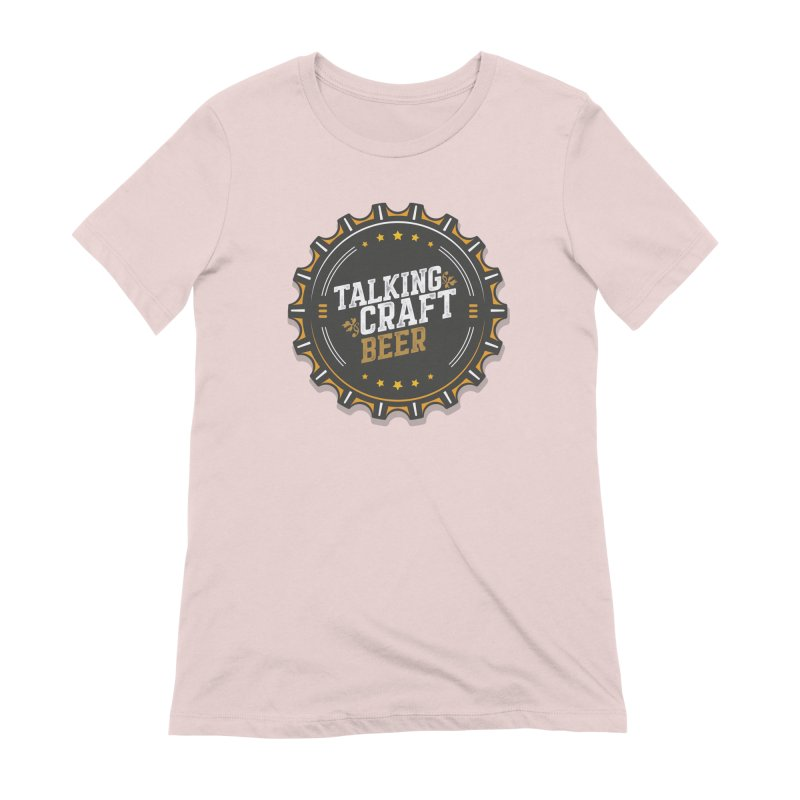 Talking Craft Beer Logo Women's Extra Soft T-Shirt by Talking Craft Beer Shop