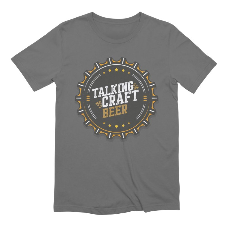 Talking Craft Beer Logo Men's Extra Soft T-Shirt by Talking Craft Beer Shop