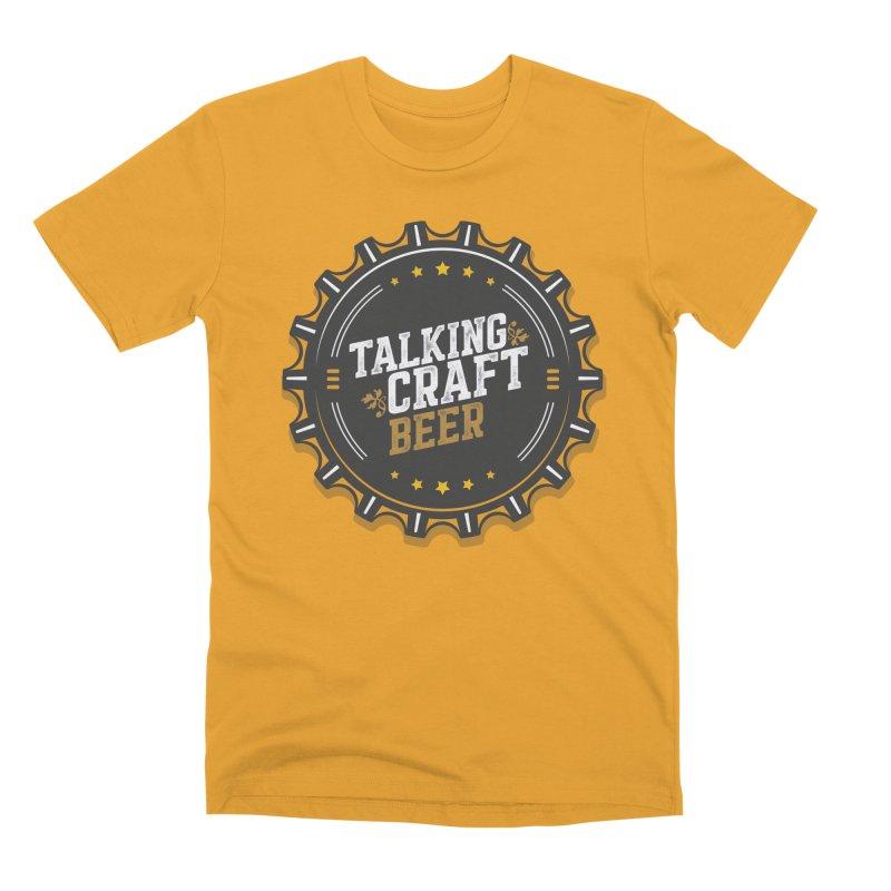 Talking Craft Beer Logo Men's Premium T-Shirt by Talking Craft Beer Shop
