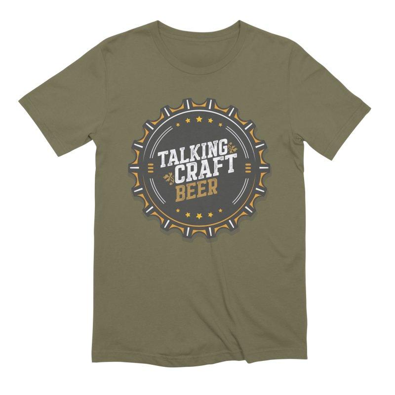 Talking Craft Beer Logo Men's Extra Soft T-Shirt by Talking Craft Beer Shop