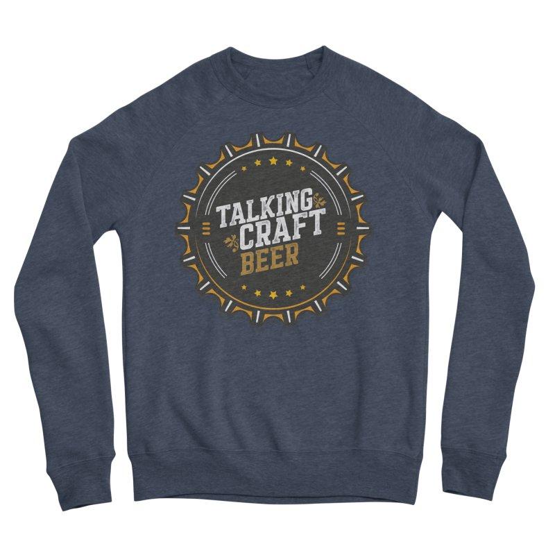 Talking Craft Beer Logo Men's Sponge Fleece Sweatshirt by Talking Craft Beer Shop