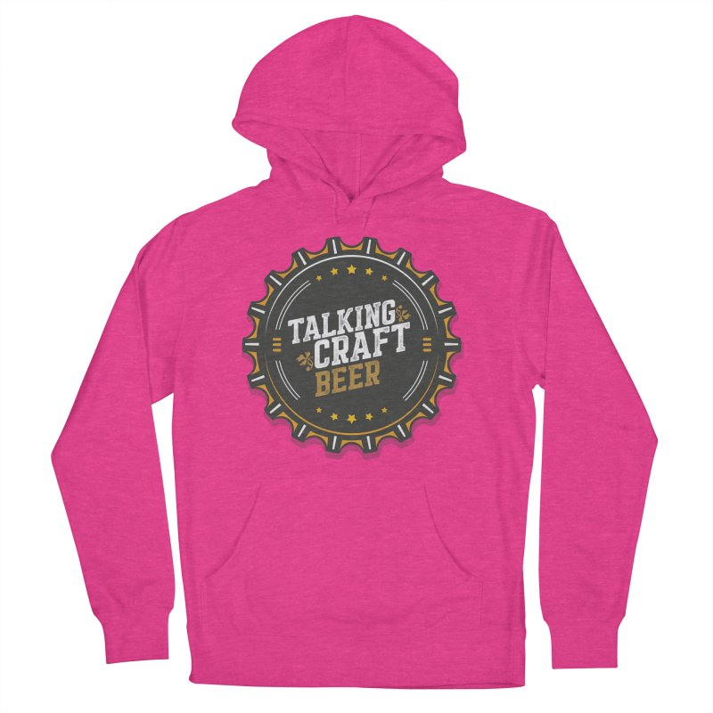 Talking Craft Beer Logo Women's French Terry Pullover Hoody by Talking Craft Beer Shop